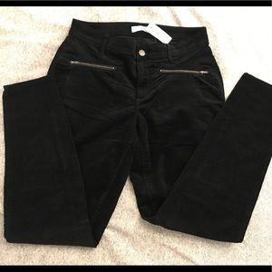 Loft corduroy black pants